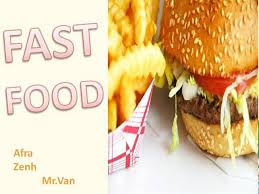 Fast Food Authorstream Fast Food Ppt