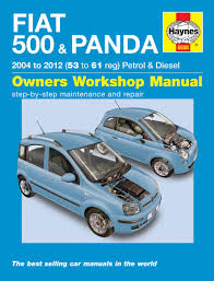 fiat 500 u0026 panda 04 12 haynes repair manual haynes publishing