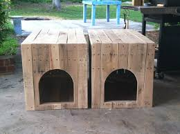 House Plans Diy Wood Pallet Dog Simple Ideas Cool Insulated Easy