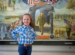 Kansas travel and tourism jobs images 6 year old presidential whiz now promoting kansas tourism the