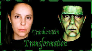 frankenstein makeup transformation silvia quiros youtube