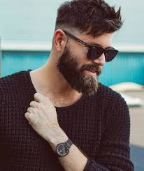 mens style hair bread top 30 cool beard styles for men in 2018