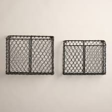 Wall Hanging Mail Organizer The Famous Wall Mounted Wire Basket Live Simply By Annie