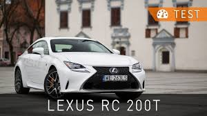 2016 lexus rc 200t coupe review lexus rc 200t f sport 2016 test pl review eng sub