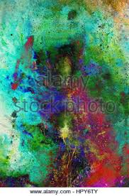 abstract backgrounds color collage with spots and desert crackle