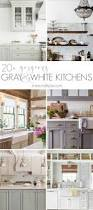 white kitchen with backsplash 20 gorgeous gray and white kitchens maison de pax