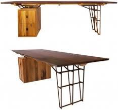 wood furniture designer vintage lumber recycled into new wood