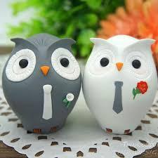 owl wedding cake topper custom owl wedding cake toppers personalised same owl