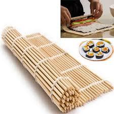 cuisine roller cheap sushi tools diy sushi rolling roller mat maker bamboo