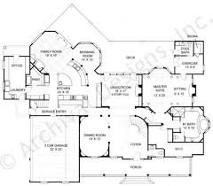 House Plans With Three Car Garage Anderson Estate Traditional House Plan Luxury Floor Plan