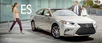 lexus es sedan 2017 2017 lexus es 350 lexus dealer near highland park il