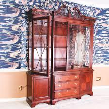 lexington furniture china cabinet breakfront china cabinet by lexington furniture ebth