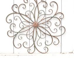 Metal Flower Wall Decor - wall art metal wall art flower wall art flower decor flower