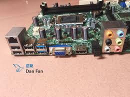 ordinateur de bureau dell xps 8500 cn 0yjpt1 yjpt1 pour dell xps 8500 de bureau carte mère dh77m01