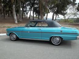 classic american cars 1963 chevy nova ss convertible