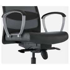 Ilea Chairs Markus Swivel Chair Glose Black Ikea