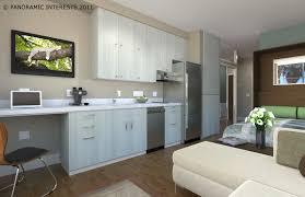 studio living furniture small apartment room interior loft design