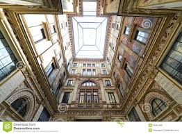 architectural lines interior courtyard royalty free stock image