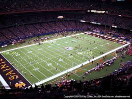 mercedes superdome mercedes superdome section 620 seat views seatgeek