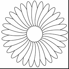 amazing printable flower coloring pages for kids with coloring