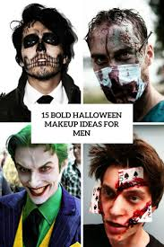 15 bold halloween makeup ideas for men styleoholic