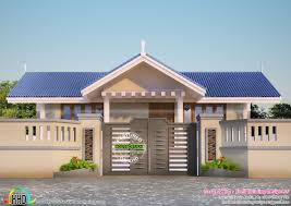 Kerala Home Design Thrissur by House Plans 2017 Sloping Roof Kerala Home Design And Country Home