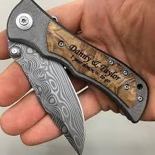 wedding gift knives oltre 25 fantastiche idee su personalized pocket knives su