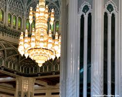 Sultan Qaboos Grand Mosque Chandelier Grand Mosque In Muscat Oman Retired And Travelling