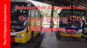 philippines bus philippines general santos city bulaong bus terminal tour youtube