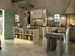 kitchen style rustic kitchen stone tile backsplash and floors