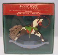 hallmark rocking series ornaments ebay