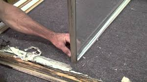 Double Pane Window Repair How To Replace The Rotten Wood On A Window Sash Youtube