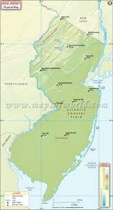 South Asia Physical Map Quiz by Physical Map Of New Jersey New Jersey Physical Map