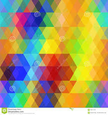 abstract hipsters seamless pattern with bright rainbow color