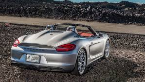 porsche boxster 2016 price 2016 porsche boxster spyder first drive review photo 11 top down