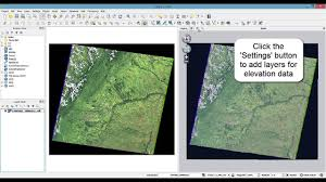 qgis viewshed tutorial qgis tutorial visualize your dem and imagery layers in 3d