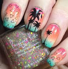 images of miami dolphins nail art asatan nail art miami best nail