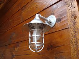 Outdoor Rustic Light Fixtures Rustic Outdoor Lighting Garage And Shed Contemporary With