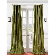 White Taffeta Curtains Curtains Polyvore