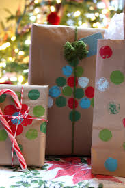 recycled paper bag gift wrap ideas