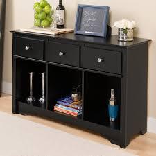 prepac living room console black walmart com
