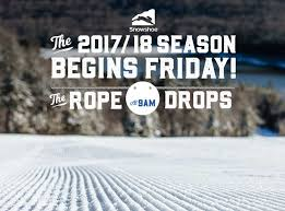 announcing opening day at snowshoe mountain ski southeast