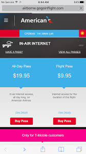 american airlines free wifi free in flight wifi on american airlines flights loophole with