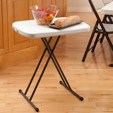 Lifetime Adjustable Table Lifetime 66 4 Cm 26 In Personal Table