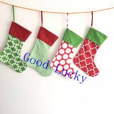 online get cheap striped christmas stocking aliexpress com