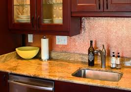 kitchen backsplash sheets copper backsplashes from quickshipmetals
