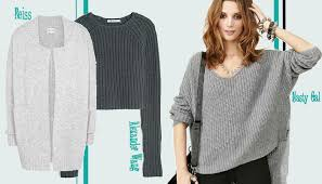 how to knit a sweater how to look in chunky knits style on