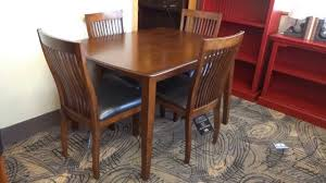 ashley dining room furniture set ashley furniture stuman dining table set d293 review youtube