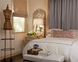 traditional bedroom design with stunning home goods mirrored