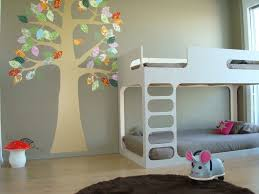 Grey And White Kids Room Elegant Decorating Kids Rooms About Tree Wall Art Kids Room Design